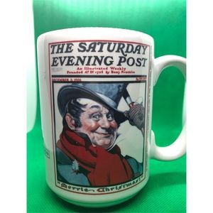 Other - Norman Rockwell Saturday Evening Post Coffee Mug